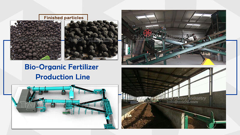 technology of small organic fertilizer production line