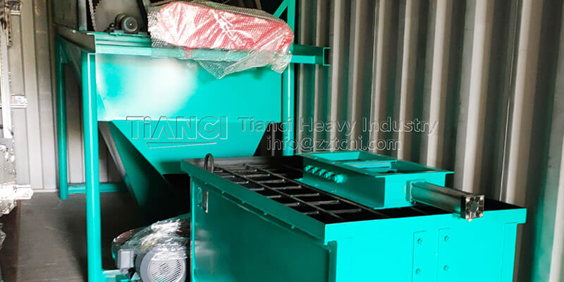 Export of extrusion granulation NPK fertilizer manufacturing equipment