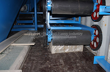 Complete fertilizer production machine exported Jordan