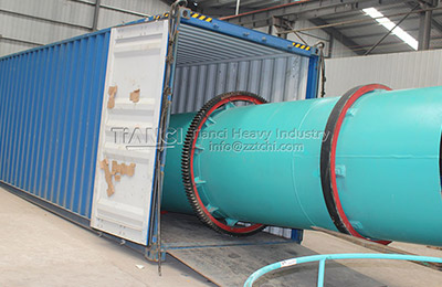 Fertilizer dryer to Nigeria